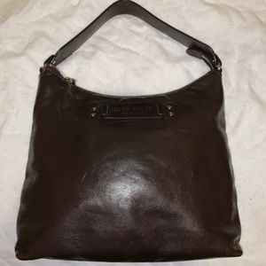 Kate spade ♠️ ❤️brown leather shoulder bag